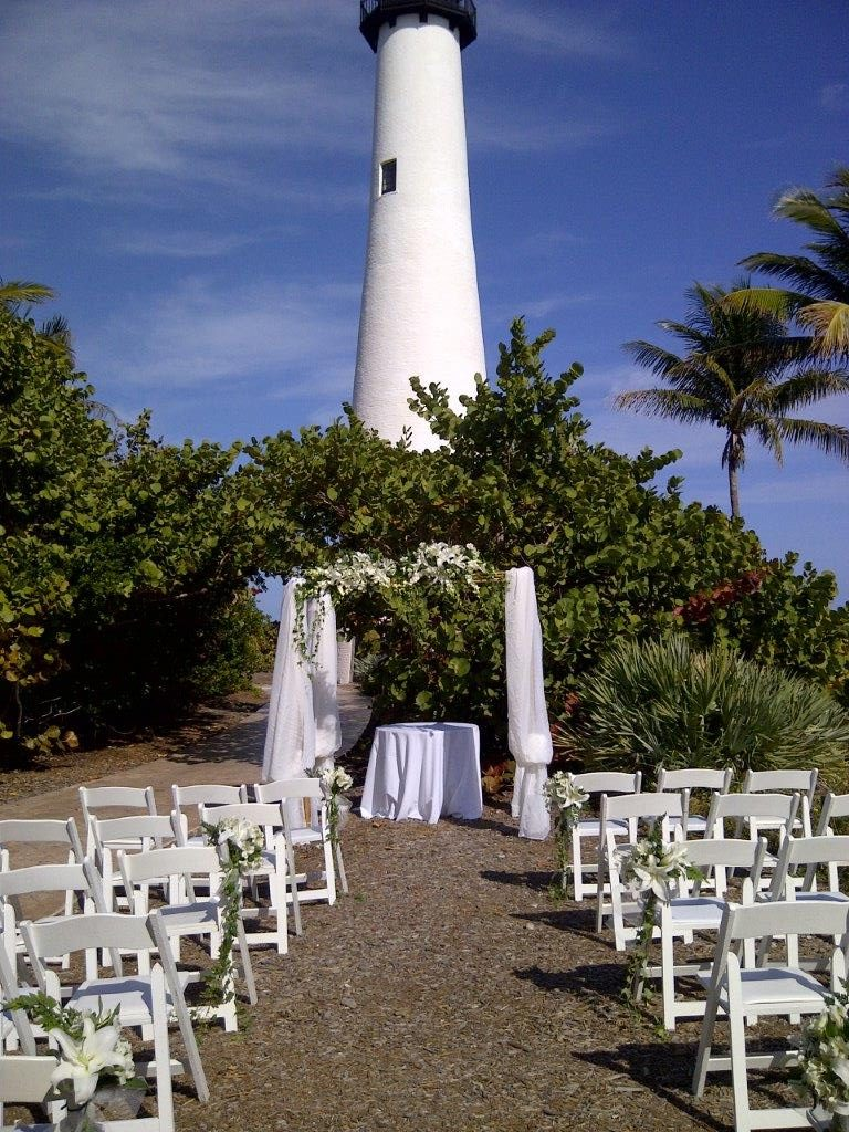 Bill Baggs Light House Wedding Parties By Pat Inc